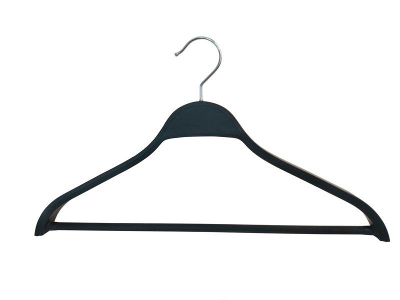 ABS plastic Black hanger with customized logo