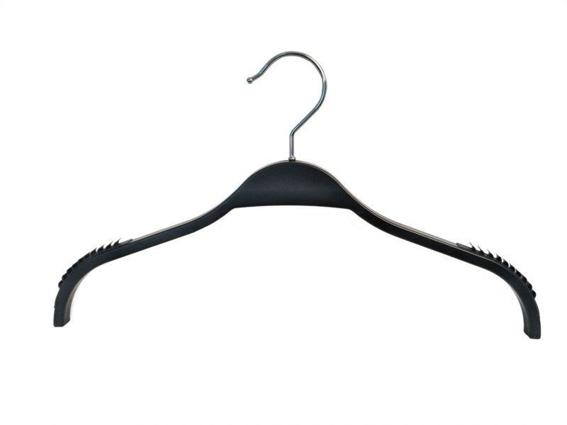 Fasion plastic hanger with Anti-slip shoulder