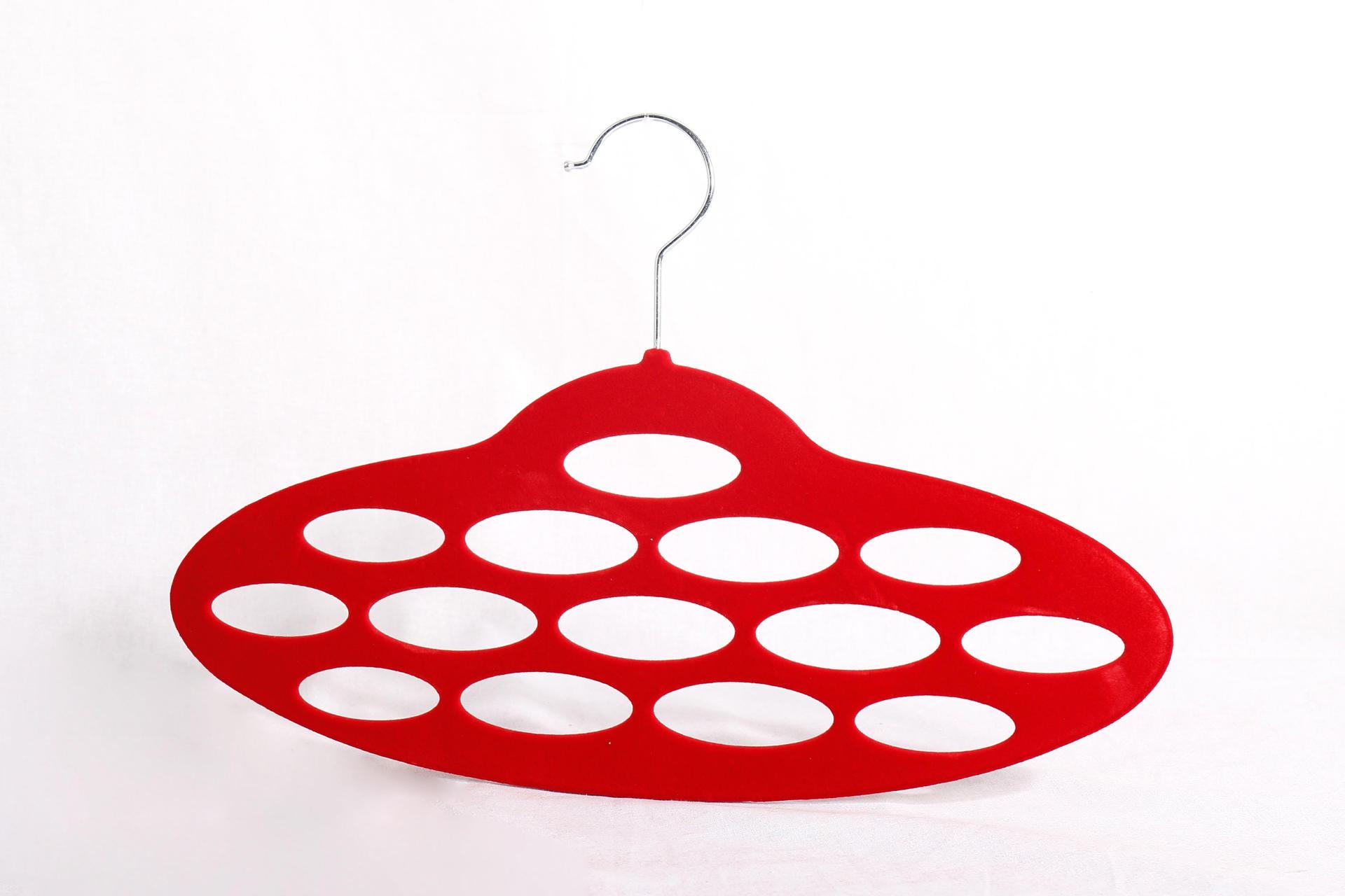 Colorful Velvet Scarves Hanger Hangers for Ties Scarf Simple scarf hanger